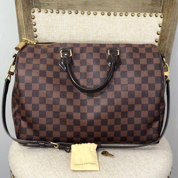 ce45643092b3 Louis Vuitton Handbags - Louis Vuitton Speedy Bandoulière 35 Pre-Owned